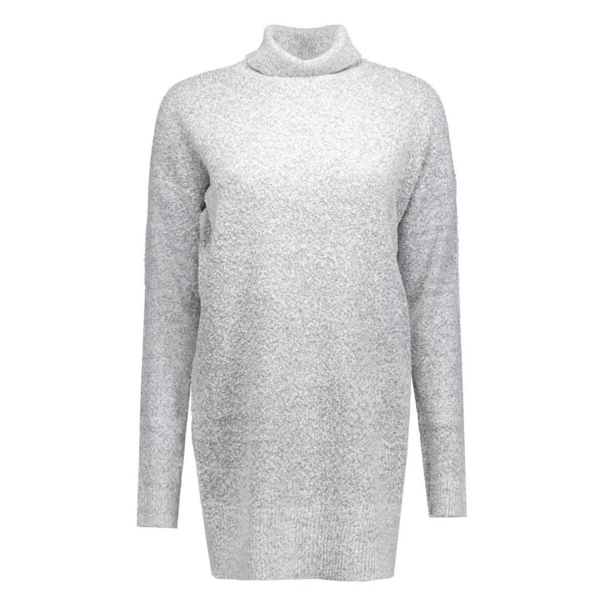 jdystark ls long pullover knt 15117161 jacqueline de yong trui light grey melange