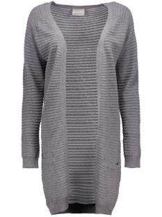 vmforever nice ls long cardigan noos 10165417 vero moda vest medium grey melange