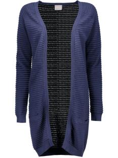 Vero Moda Vest VMFOREVER NICE LS LONG CARDIGAN NOOS 10165417 Black Iris