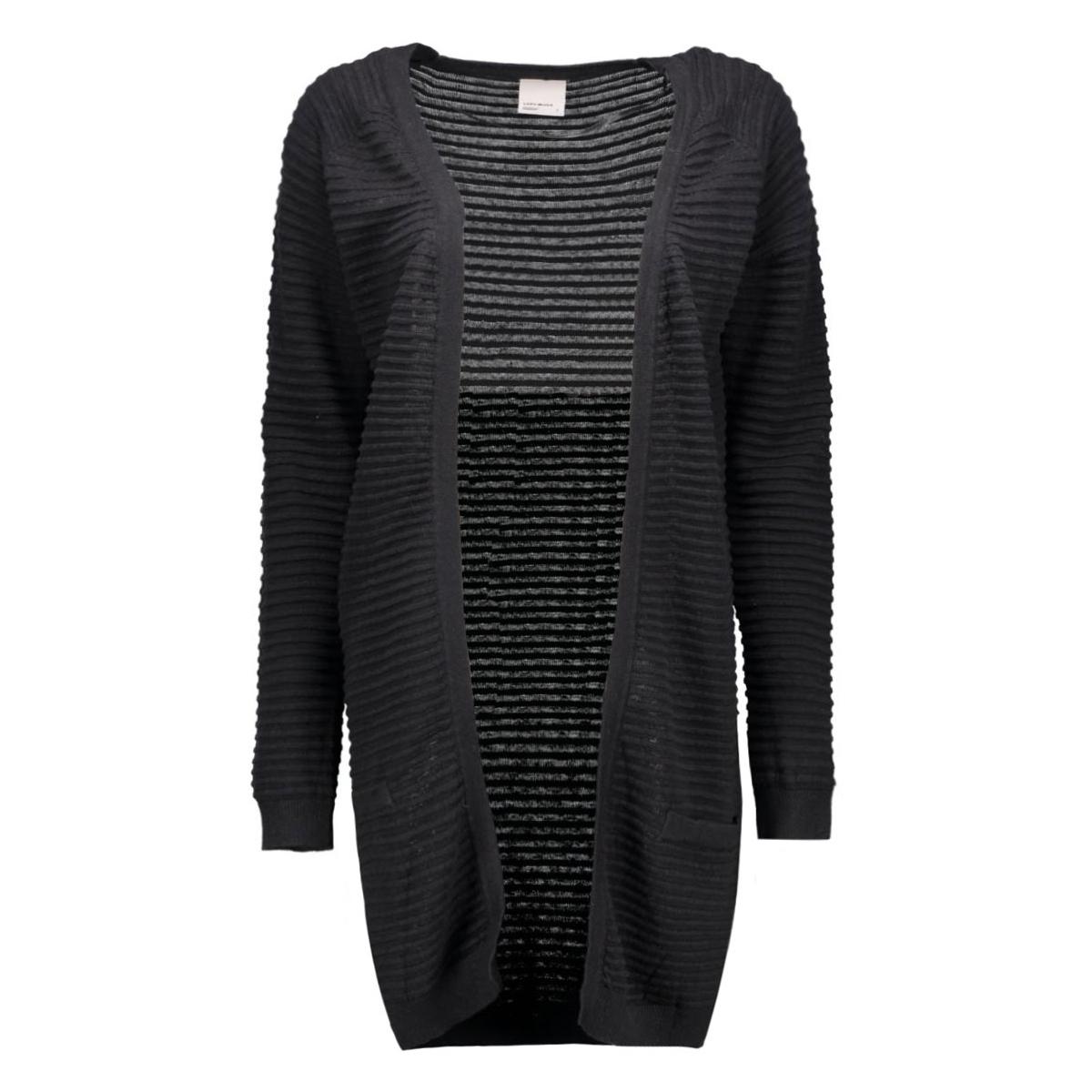 vmforever nice ls long cardigan noos 10165417 vero moda vest black