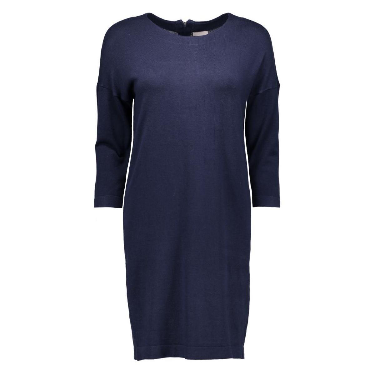 vmglory vipe aura 3/4 dress noos 10137034 vero moda jurk navy blazer