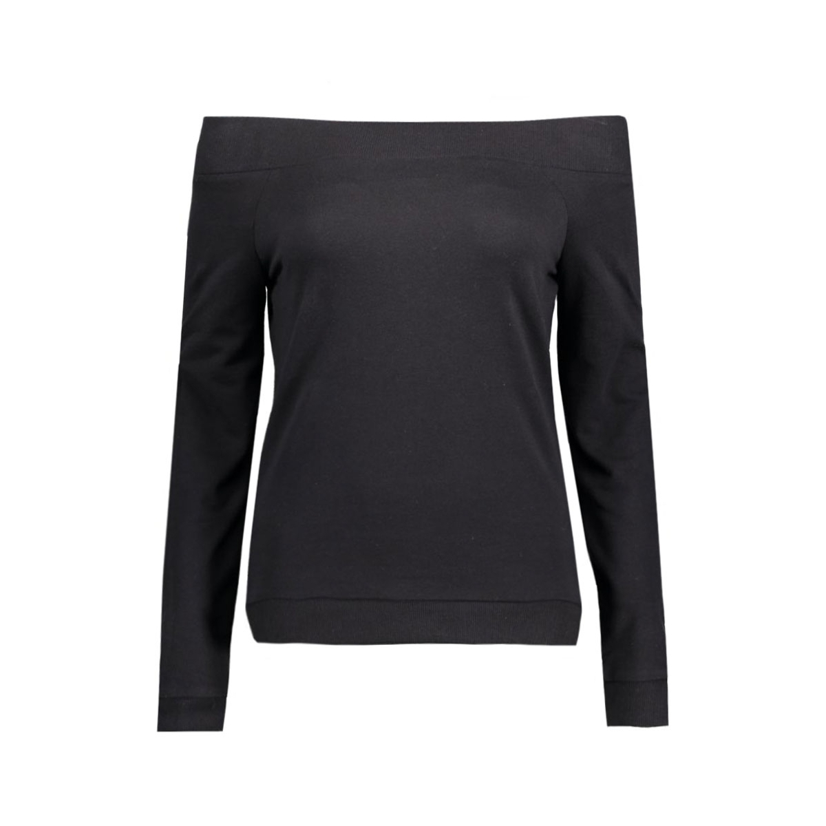 nmchase l/s sweat 10165738 noisy may sweater black