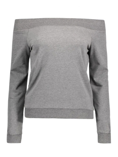 NMCHASE L/S SWEAT 10165738 Medium Grey Melange