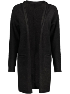 JDYSTARK L/S LONG CARDIGAN KNT 15117163 Black