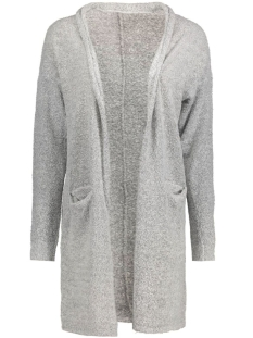 jdystark l/s long cardigan knt 15117163 jacqueline de yong vest light grey melange