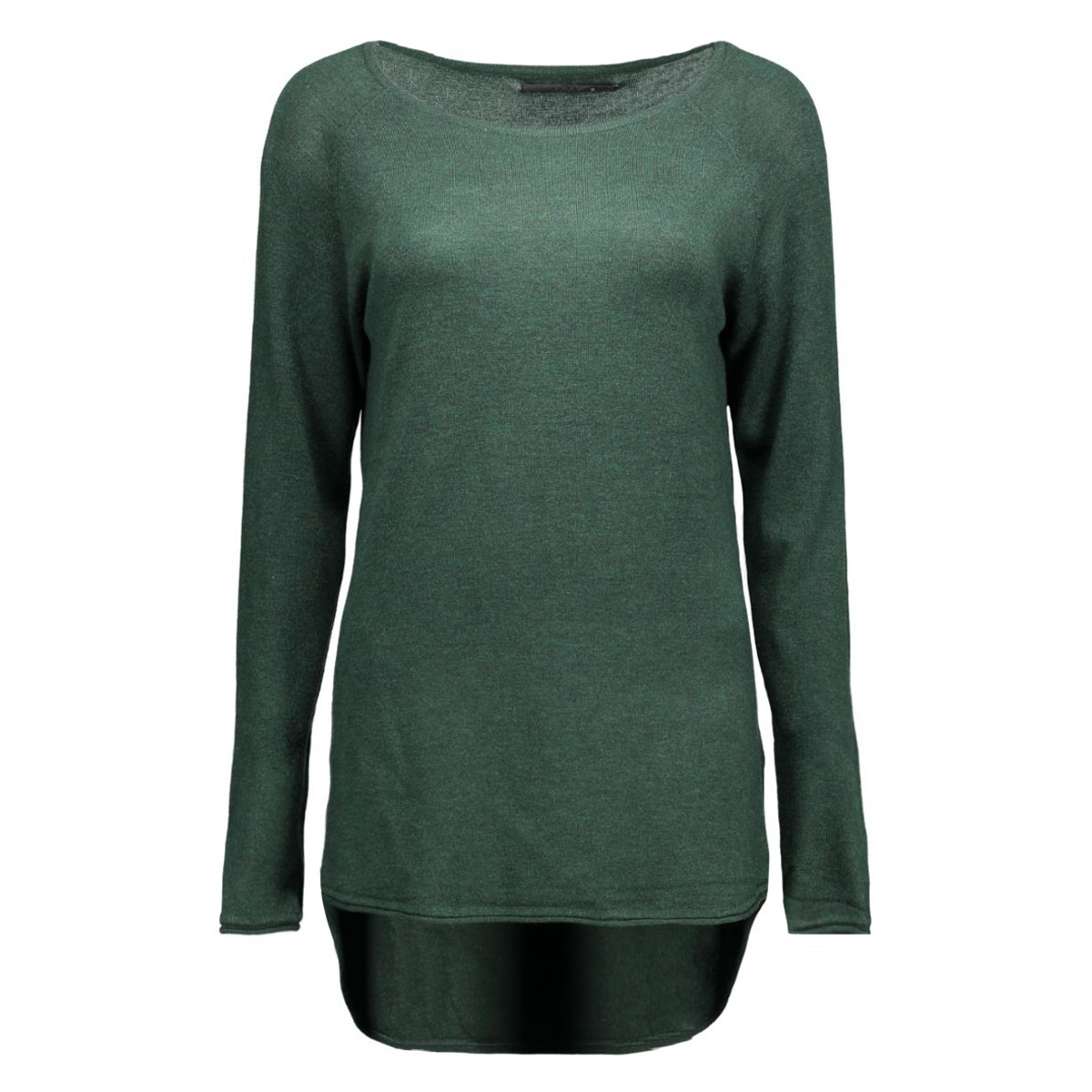 onlmila lacy l/s long pullover knt 15109964 only trui scarab/ melange