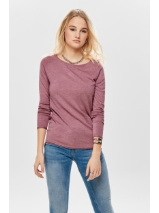 onlMILA LACY L/S LONG PULLOVER KNT 15109964 Mesa Rose