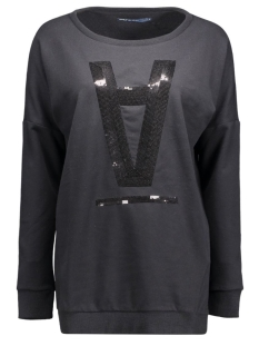 onlSTELLA AMOUR L/S O-NECK BOX SWT 15123802 Black