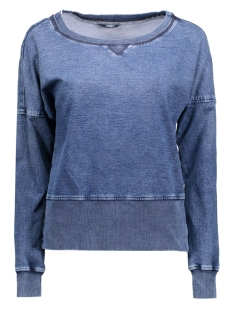 Only Sweater onlJEM L/S JOG BLOUSE DNM 15119418 Medium Blue Denim