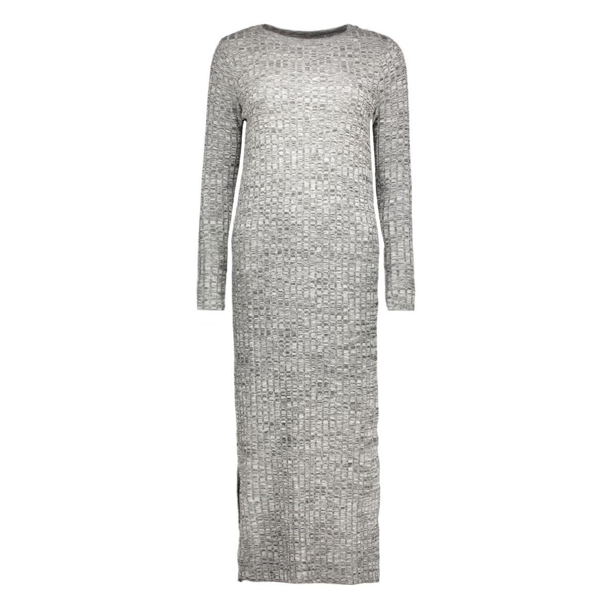 vmnille ls dress 10162500 vero moda jurk black/melange w.