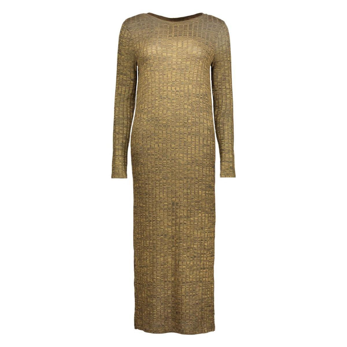 vmnille ls dress 10162500 vero moda jurk kangaroo/melange w.