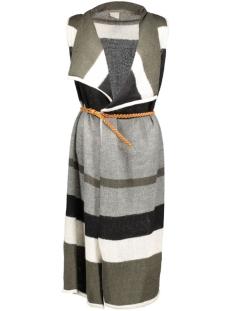 vmlima drapey waistcoat 10159684 vero moda vest black/w. medium