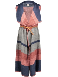 vmlima drapey waistcoat 10159684 vero moda vest navy blazer/w. fired b