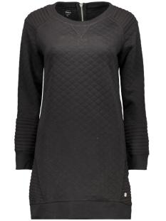 onlGILDA L/S DRESS SWT 15125137 Black/SOLID