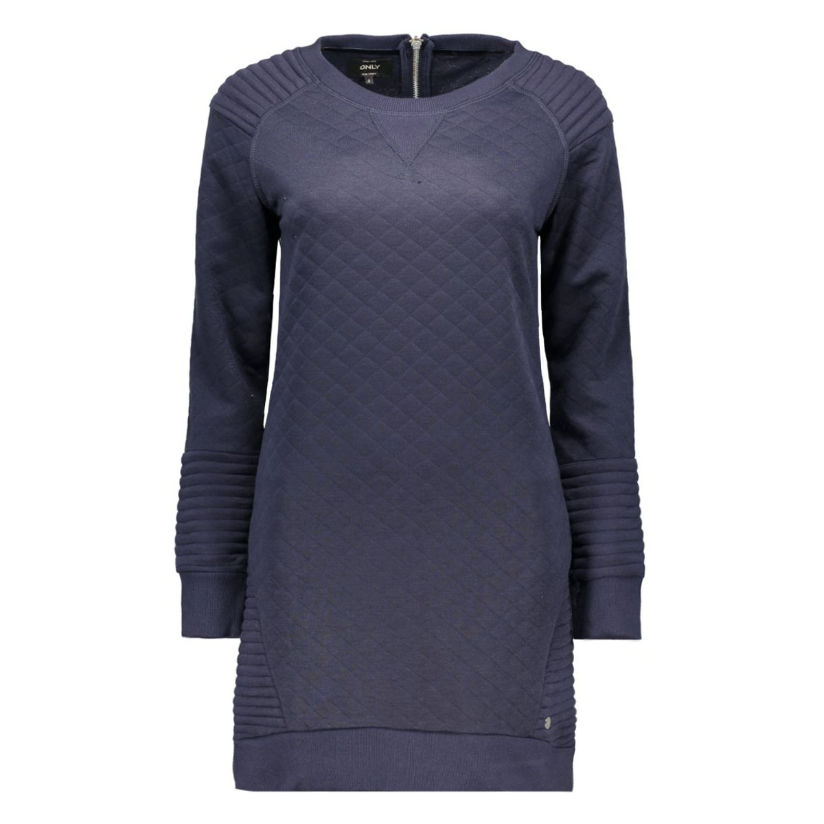 onlgilda l/s dress swt 15125137 only jurk night sky/solid