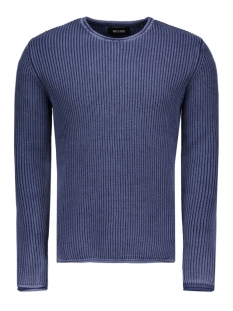 Only & Sons Trui onsSATO WASHED CREW NECK KNIT 22004335 Dark Navy