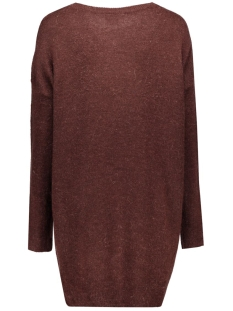 vmginger ls long blouse 10159163 vero moda trui decadent chocolate
