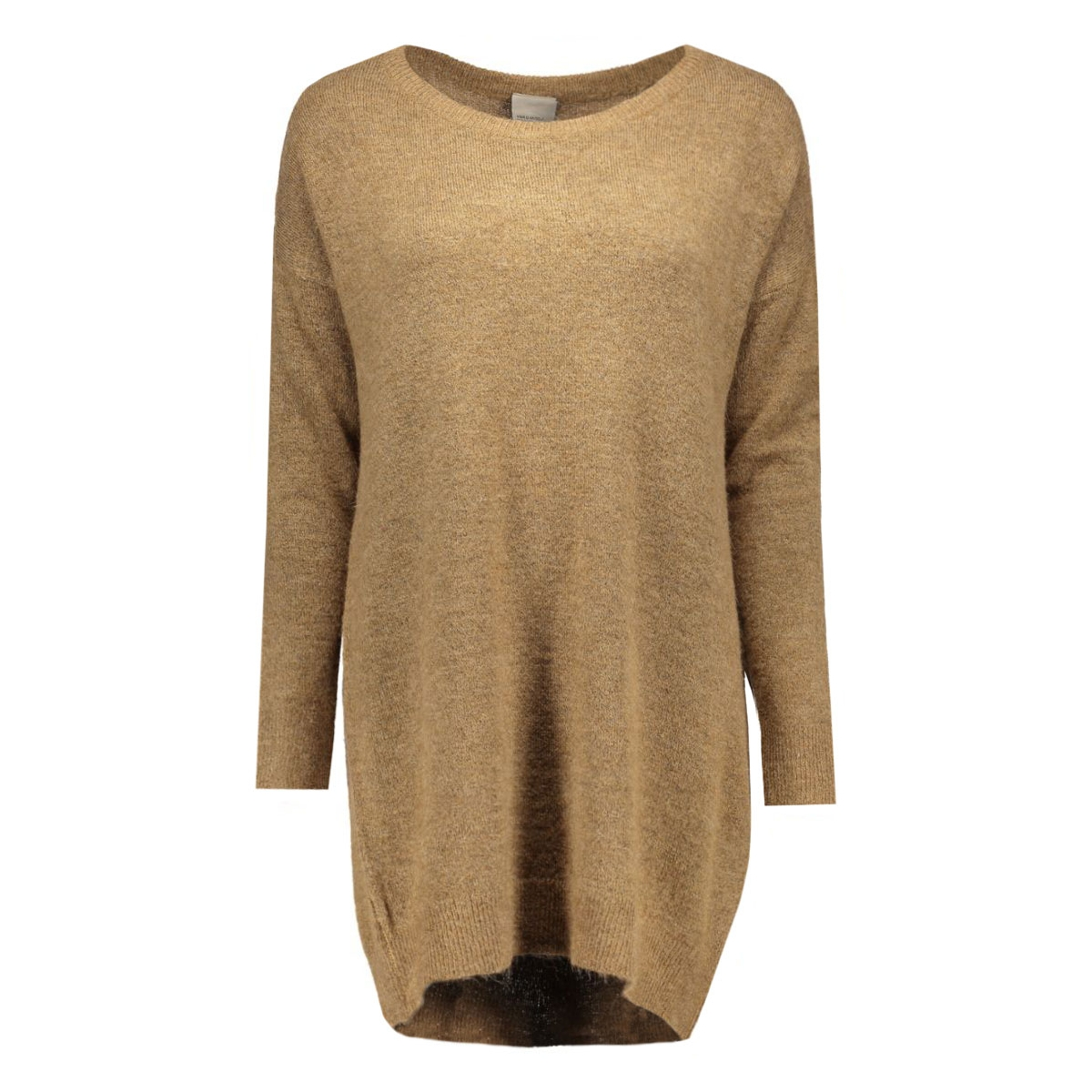 vmginger ls long blouse 10159163 vero moda trui tigers eye