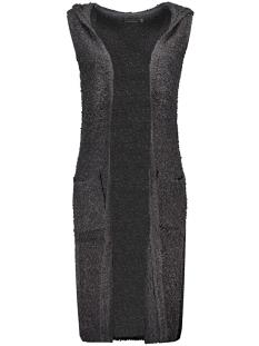 Only Vest onlNEW ZADIE S/L HOOD WAISTCOAT KNT 15121240 Dark Navy/ W. BLACK M
