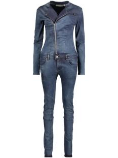w16.17.2145 new taylor dnm circle of trust jumpsuit deep fading indigo