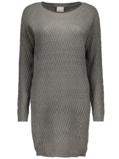 Vero Moda Jurk VMPOSH LS DRESS NOOS 10163894 dark grey melange