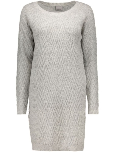 Vero Moda Jurk VMPOSH LS DRESS NOOS 10163894 light grey melange