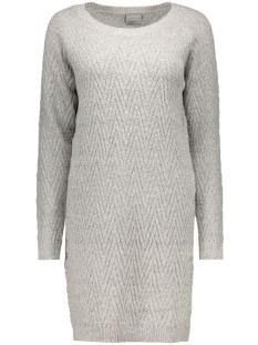 vmposh ls dress noos 10163894 vero moda jurk light grey melange
