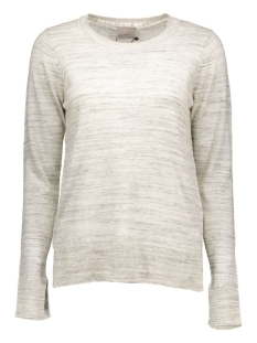 VMLUDWIG LS O-NECK BOO 10157323 Light Grey Melange