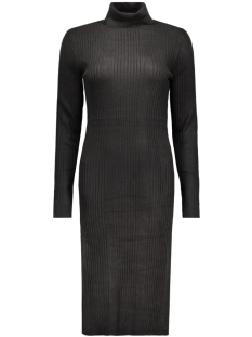 VMNIMBO LS ROLLNECK SLIT DRESS 10157963 Black