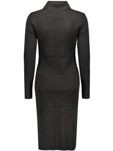 vmnimbo ls rollneck slit dress 10157963 vero moda jurk black