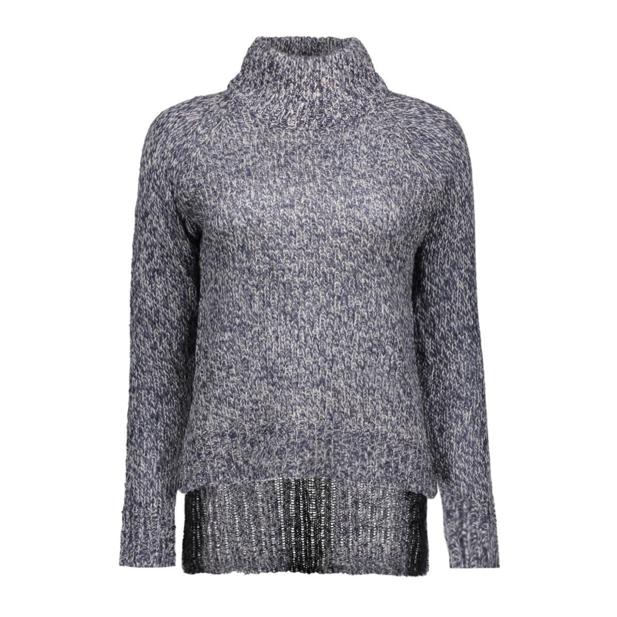 vmcamille ls funnelneck blouse dnm 10159274 vero moda trui navy blazer