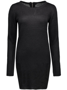 onlNEW HAYLEY L/S ZIPPER DRESS KNT 15122432 Black