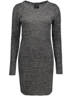 Only Jurk onlNEW HAYLEY L/S ZIPPER DRESS KNT 15122432 Dark Grey Melange