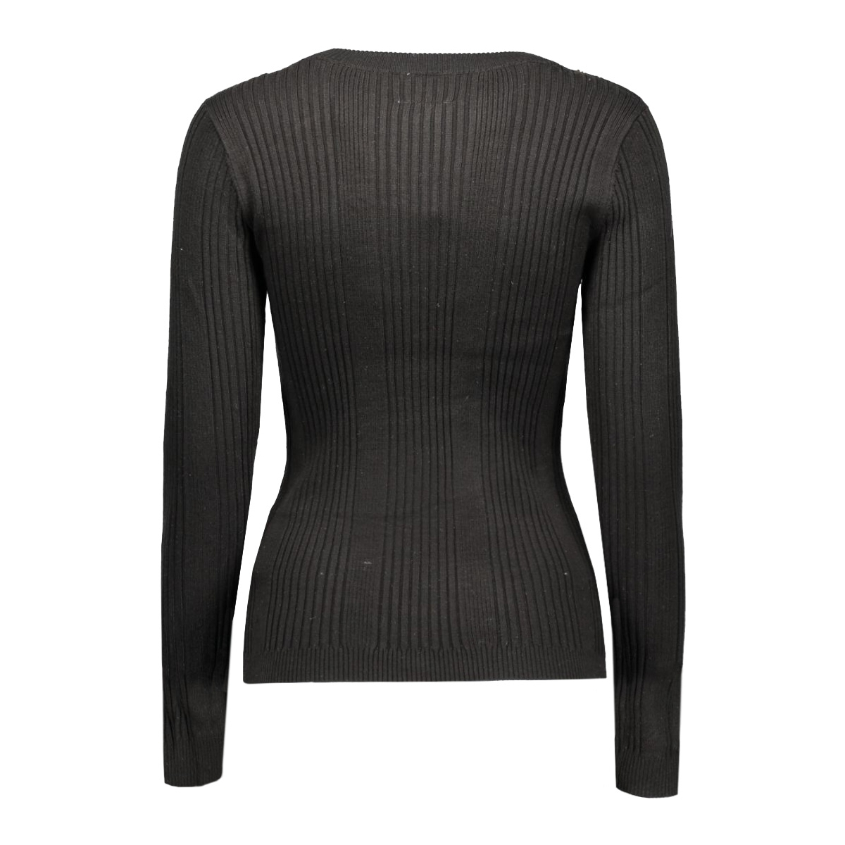 vmnimbo ls button blouse dnm a 10159733 vero moda trui black