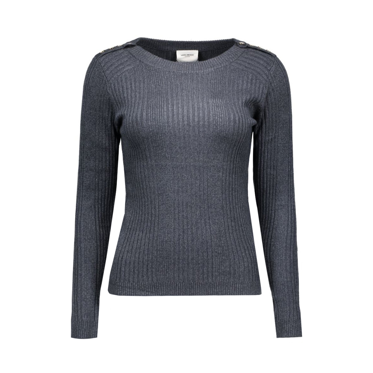 vmnimbo ls button blouse dnm a 10159733 vero moda trui ombre blue