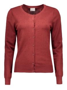 Vero Moda Vest VMGLORY MISA LS CARDIGAN REP 10165144 Fired Brick