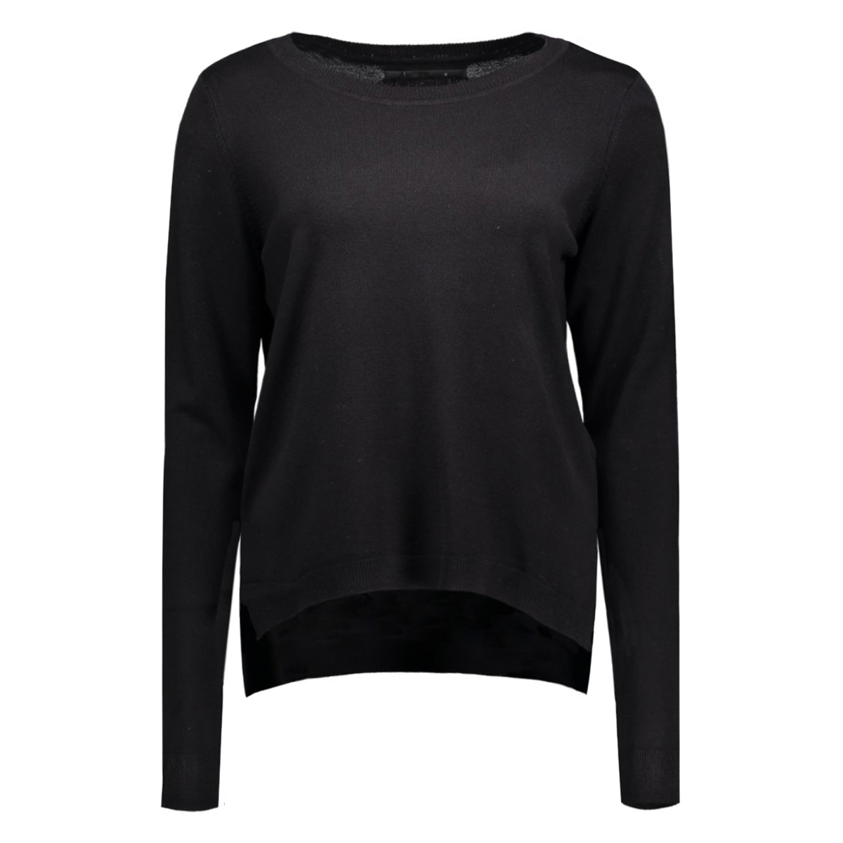 onlmila l/s pullover knt 15128852 only trui black
