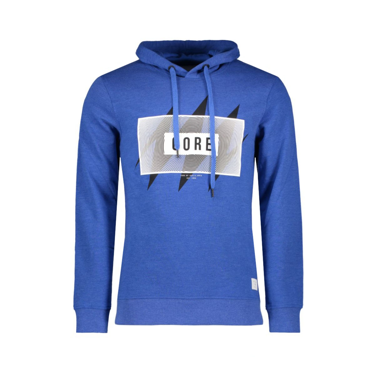 jcocross sweat hood 12109374 jack & jones sweater nautical blue