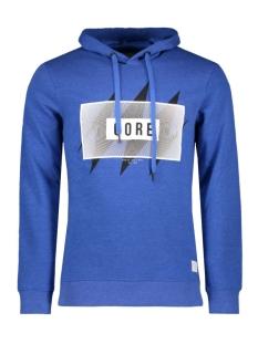 Jack & Jones Sweater JCOCROSS SWEAT HOOD 12109374 Nautical Blue