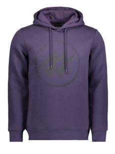 Jack & Jones Sweater JCOMERLIN SWEAT HOOD CAMP 12115014 Nightshade