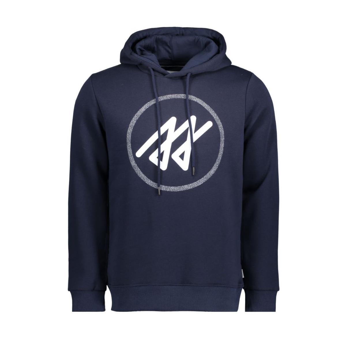 jcomerlin sweat hood camp 12115014 jack & jones sweater navy blazer
