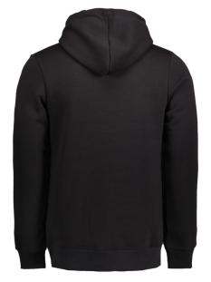 jcomerlin sweat hood camp 12115014 jack & jones sweater black