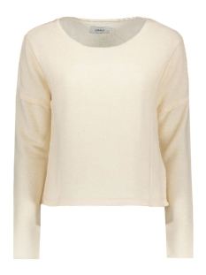 Only Trui onlBROOKE L/S O-NECK SWT 15125126 Pumice Stone