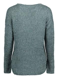 vmjive ls high/low blouse 10167787 vero moda trui reflecting pond/comb