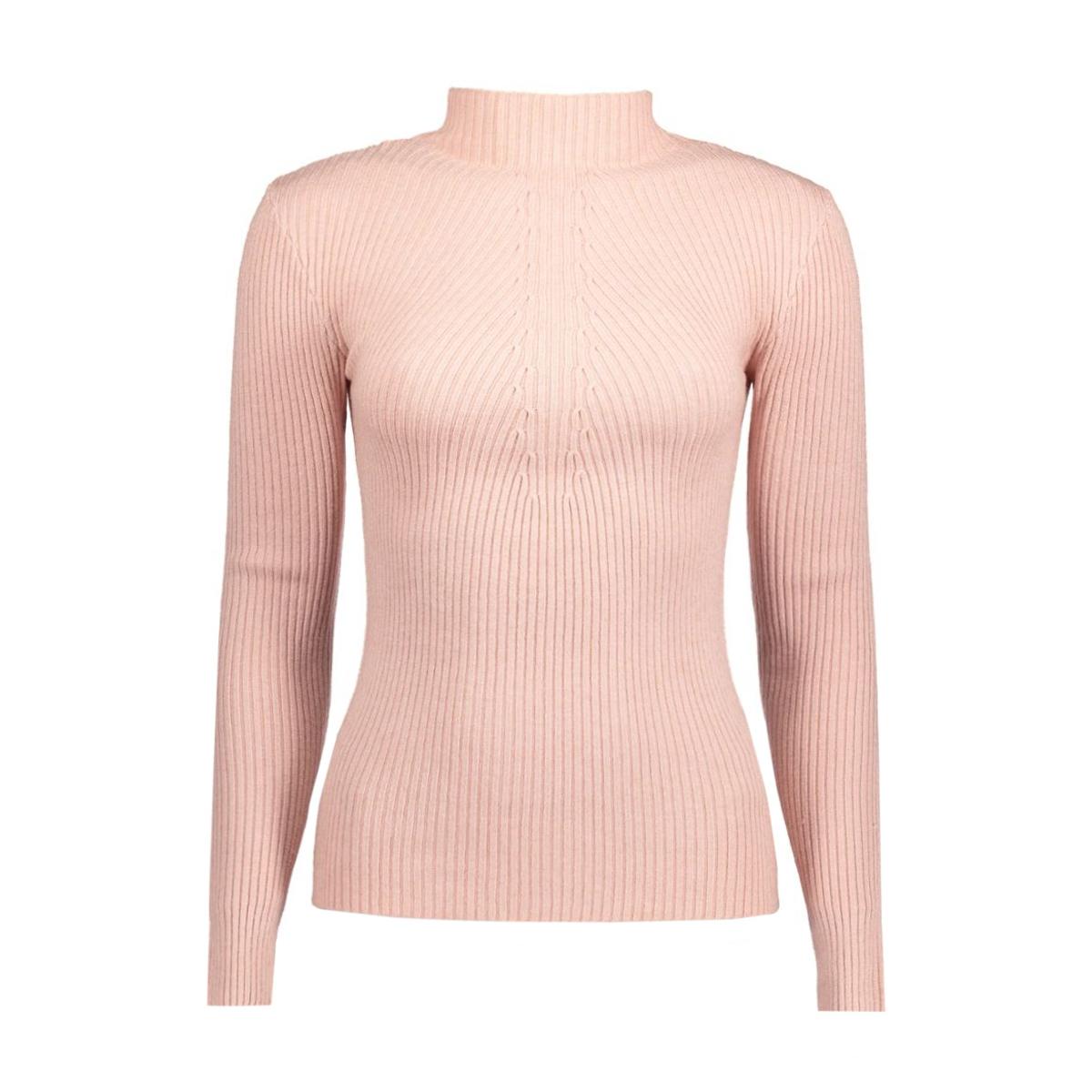pcdesla ls knit clw 17079727 pieces trui misty rose