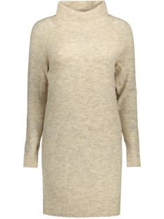 onlTRUST L/S HIGHNECK DRESS KNT RP 15116634 Pumice Stone/Melange