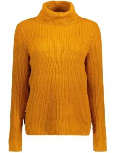 Jacqueline de Yong Trui JDYBASKY L/S ROLL NECK NOOS KNT 15120364 Pumpkin Spice
