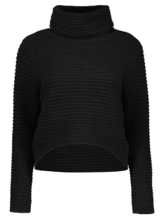 Only Trui onlTEXAS L/S ROLLNECK NORM PULLOVER 15126980 Black
