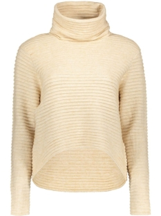 Only Trui onlTEXAS L/S ROLLNECK NORM PULLOVER 15126980 Pumice Stone