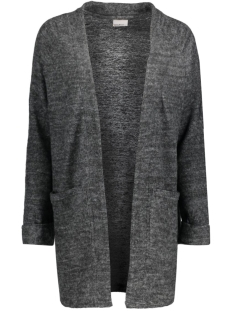 Vero Moda Vest VMFALLON LS POCKET CARDIGAN 10169857 Dark Grey Melange